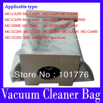 EMS free shipping vacuum cleaner accessories,vacuum cleaner garbage bags, non-woven bags vacuum cleaner dust bags,8pcs/lot