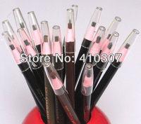 Brown Black Eyebrow Pencil Waterproof Eye Brow Beauty Make Up Cosmetics Bracing Wire Pencil HK Post Free Shipping 20 pcs