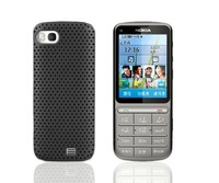 Free Shipping (1pcs) Top Quality Reticulated shell hard case for Nokia C3-01 C7-00 X3-02 Cover cell phone