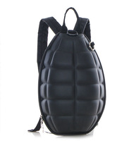 Fashion Rare Grenade Shape Backpack Mens Womens Grenade bags Cartoon Backpack school bag Shell bags