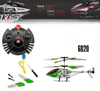Free Shipping  Direct Marketing Mirage 6020  RC Helicopter    Swift SH 7.5 inch Metal 3CH    With light RTF