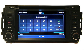 "New Arrival-6.2"" in dash car DVD Player for Chrysler Sebring/Dodge/Jeep with GPS ATV BT RDS PIP IPOD SWC 3G USB host"