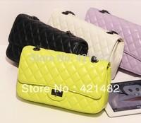 Free Shipping 2013  new Quilted handbag shoulder chain bag Messenger bag fashion l bag