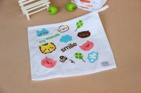 De-forest gauze towel baby towel bib baby handkerchief wipe sweat towel 25 75