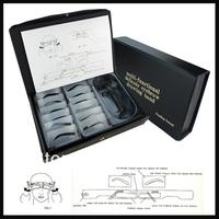 Free Shipping Permanent Makeup  Eyebrow Stencils kit 12 Designs eyebrow Template