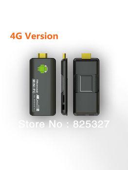 Rikomagic MK802 IIIS Mini PC, Remote Control Android TV box RK3066 Cortex A9 1GB RAM 4G ROM HDMI TF Card TV stick [IIIS/4G]
