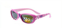 NEW KIDS BOYS GIRLS Children Stylish UV 400 Polarized sunglasses&Test paper