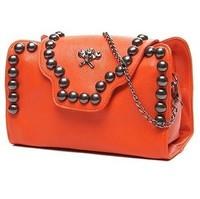 Free shipping pu Skull Rivet Chain fashion women handbags mini totes Shoulder Messenger BagsEvening