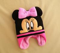 children winter hat  Minnie mickey caps age 1-4Years