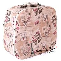 16 romantic vintage british style vintage cosmetics luggage suitcase