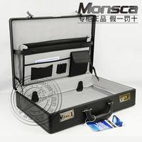 Briefcase password box computer case tool box suitcase