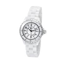 2015 Real Hardlex Women Watches Top Brand Switzerland Movement Womens Ceramic Watches Waterproof Mens Lovers Watch With Calendar
