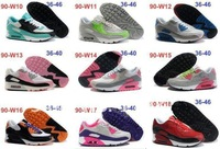 Free Shipping Quality Women 90 Sport Shoes running shoes Women Max New Deisgn Sneakers Lady Brand Unisex Shoes air with tag