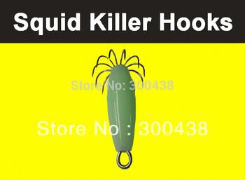 Squid Hooks,Fishing Lure,hard bait,2pcs
