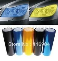30cm x 120cm Car Fog Tint Vinyl Light Headlight Taillight Film Sheet Sticker Auto Car Stickers