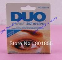 Free shipping 24pcs/lot  DUO eyelash adhesive waterproof False eyelashes glue 9G White eyelash glue. DUO WATER PROOF EYELASH