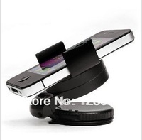 Universal 360 Degree Rotating Car Mount Holder Stand for iPhone Cellphone GPS MP4 PDA tablet Accessories