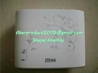 ZTE ZXA10 F411 EPON ONU with one ethernet and one voice port FTTH ONT