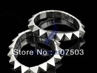 30pcs/lot 2013 New Fashion Rock Punk Charm Elastic Pyramid Rivets Bangle Bracelet Pendants Free Shiping 11002