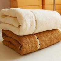 Bath towels,1 PCS 100% cotton 80*180cm 500g Enlarged size adult bath towels,beach towels,towels beach,FREE SHIPPING TO RUSSIA