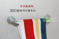 Free shipping Space aluminum armrest shower room handle grab bar towel bar 30 40 50cm bathroom fitting