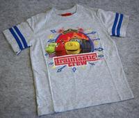 Children's clothing target-chug ington baby grey child T-shirt male short-sleeve