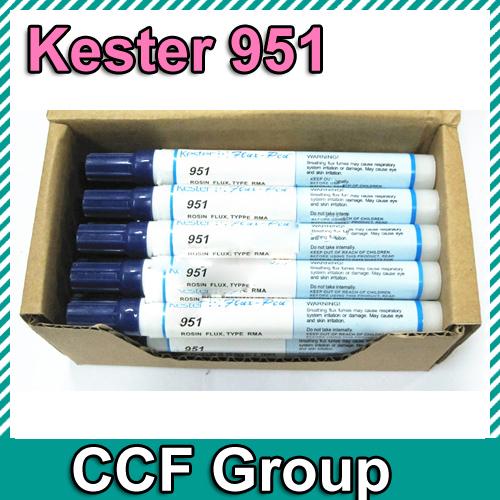 Wash-free Rosin Pen Flux Pen Kester 951 for FPC/PCB Prepair Work Freeshipping(China (Mainland))
