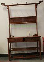 Antique mahogany furniture solid wood coat  Classic Furniture  bedroom