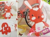 Croppings diy handmade material kit festive red bugs bunny