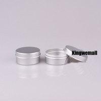 300pcs/lot Capacity 30g 30ml Aluminum Cream Jar Bottle for Lip Gloss Cosmetic Packaging QA30
