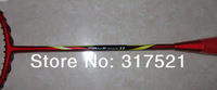 2 pieces/lot  free shipping by ems brand carbon badminton racket ARC11 100% carbon fibre with PU bag,string racket free