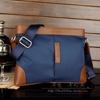 Trend of paragraph senior oxford fabric male bags shoulder bag messenger bag horizontal bag