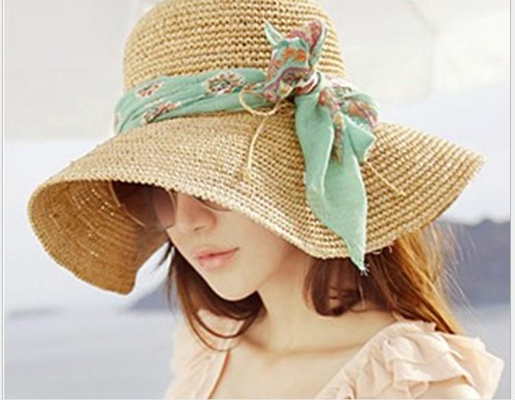 Sombrero de playa a ganchillo - Imagui