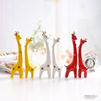Fashion Ceramic decoration home decoration crafts decoration modern gift lovers deer decoration