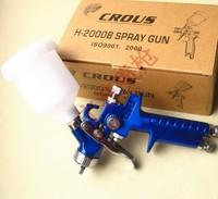 High Quality  H2000 HVLP  Air Spray Gun Paint tool 0.8MM  for Repair