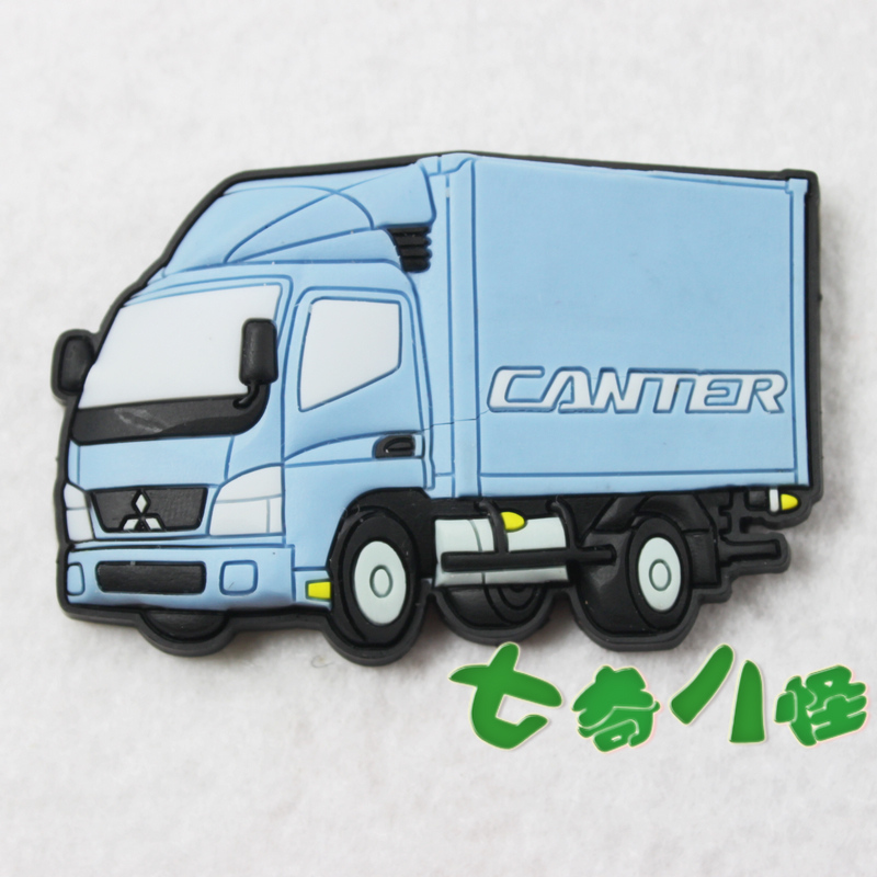 Free shipping New arrival refrigerator stickers magnets whiteboard magnet toy big truck(China (Mainland))