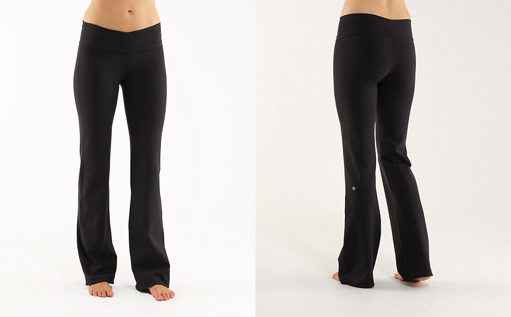 black pants girls - Pi Pants