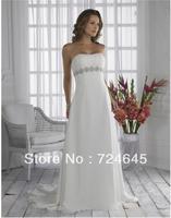 2013 Classcial Simpleness And Generosity A-Line Empire Wedding Bridal Dresses Brildal Dress Wedding Dress