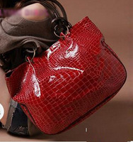 2013 Hot New Fashion Stone Pattern Handbag Ladies' Paint Shoulder Bag Noble women Bag Directly Selling