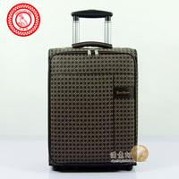 Fashion suitcase trolley luggage travel bag luggage bag suitcases PU luggage