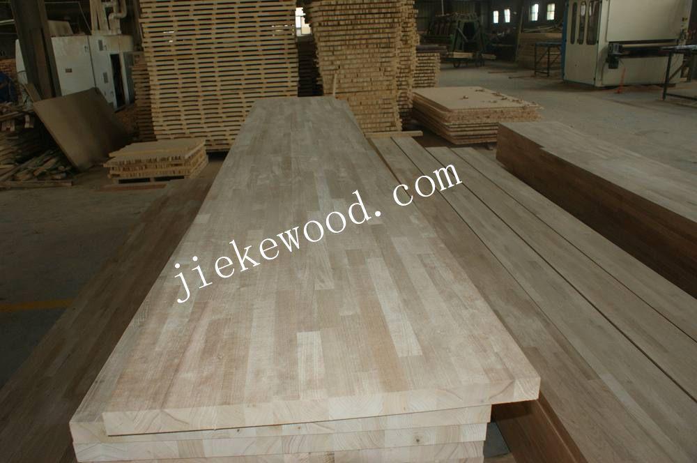 chinees walnoot massief hout vinger jionted slager blok werkbladen ...