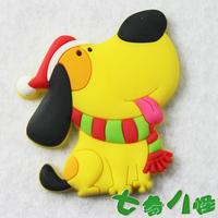 Refrigerator stickers magnets magnetic blackboard stickers cartoon christmas dog MOQ USD15 MIX