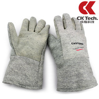350 high temperature resistant gloves aramid heat insulation gloves 350 200