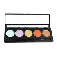 5 colors makeup Concealer Camouflage H0025A Neutral Palette