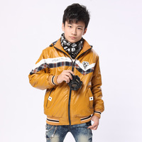 Child male child wadded jacket outerwear winter thickening winter new arrival boy cotton-padded jacket male thermal windproof