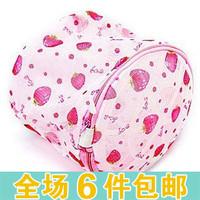 Yiwu commodity fine mesh print belt mount nursing bra wash bags washing machine personal care bags laundry bag