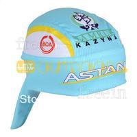 Free Shipping! 2013 Astana Biker Bandana pirates scarf headsweats dress hats cycling head wear cap