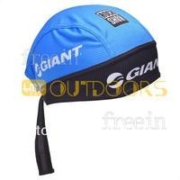 Free Shipping! 2013 BLUE Giant CAP Biker Bandana pirates scarf headsweats dress hats cycling head wear cap Quick-drying cap