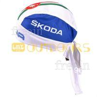 Free Shipping! 2013 SKODA CAP Biker Bandana pirates scarf headsweats dress hats cycling head wear cap Quick-drying cap