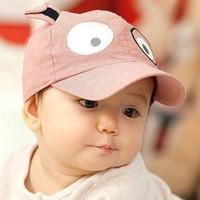 free shipping Spring and summer baby hat baseball cap male cap newborn cap style mesh cap